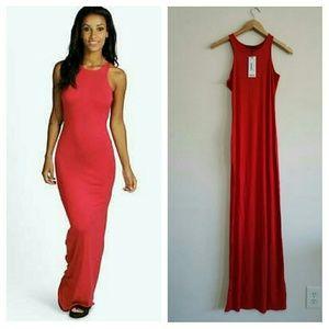 3f4408a8871c Boohoo Dresses | Margarita Ribbed Open Back Bodycon Dress | Poshmark
