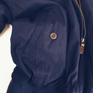 Orvis Jackets & Coats - ORVIS Navy and Plaid Jacket