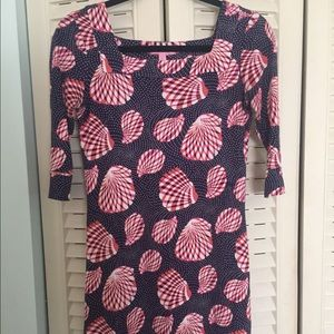 Lilly Pulitzer Shell Print Dress