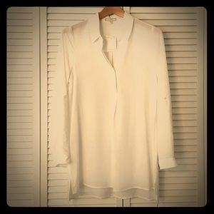 NWT White Pleione Tunic Blouse