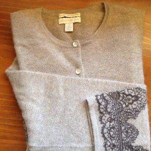 Charter Club Cashmere cardigan sweater