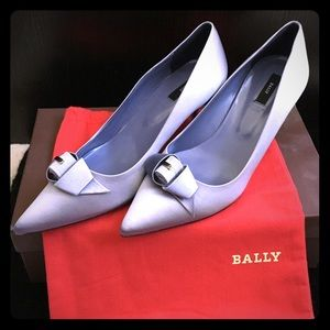 Bally Shoes - NIB Bally silk and satin pointed toe pumps