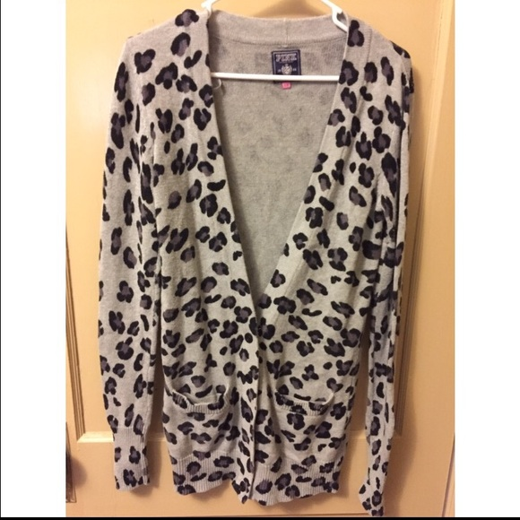 57% off PINK Victoria's Secret Sweaters - VS Pink Leopard sweater ...