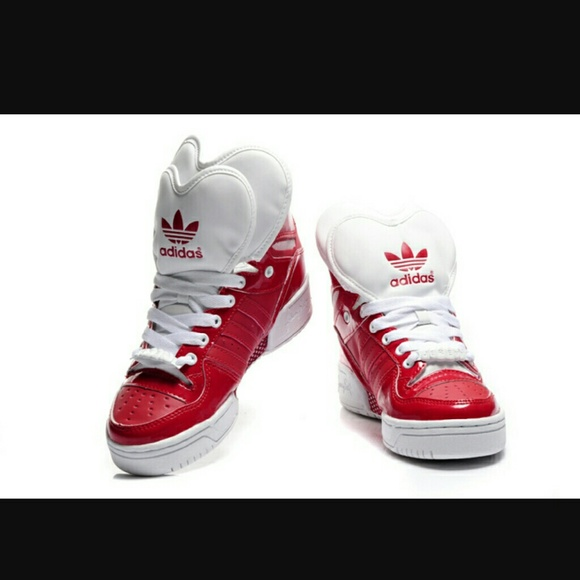 ebab5db341b99f Adidas Shoes - Adidas Original Jermey S Double Heart Red Shoes