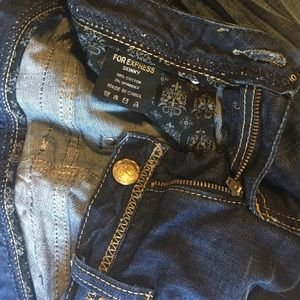 Express Jeans - Rerock Skinny Express Jeans