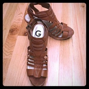 G by Guess Shoes - Brown wedges by Guess