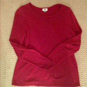 Cozy for Fall! Burgundy Crewneck Sweater