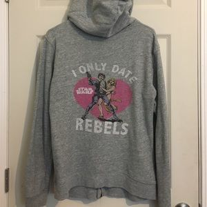 Junk Food Clothing Tops - Vintage-Style Star Wars hoodie.