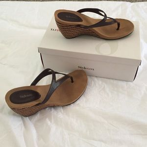 Baby Graziella Shoes - Comfy sandal wedges.