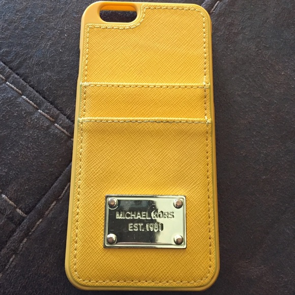 a3f6ff4e007 Michael Kors Accessories | Iphone 6 Mk Credit Card Case | Poshmark