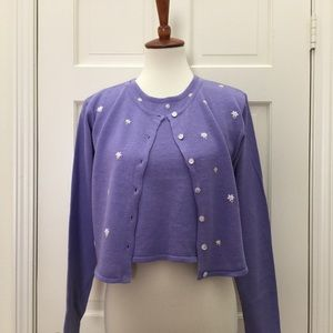 Cherokee Other - 🎉HP🎉Lavender 2-piece sweater set