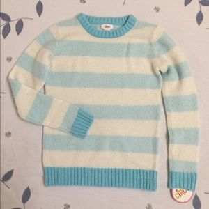 Circo Other - Striped baby blue/cream sweater