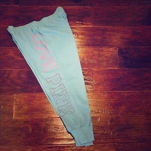 Pink Victoria Secret Capri Pants