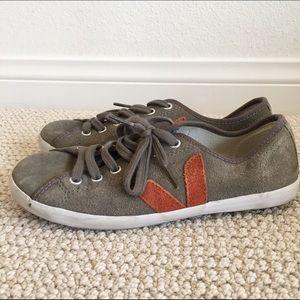 Veja Shoes - Suede sneakers Veja and Comptoir des Cotonniers