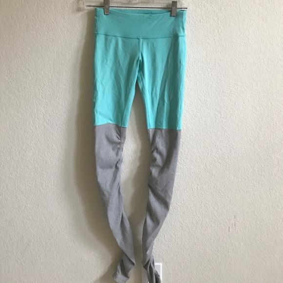 94442cc3eb4dfe ALO Yoga Pants | Turquoise Goddess Leggings | Poshmark