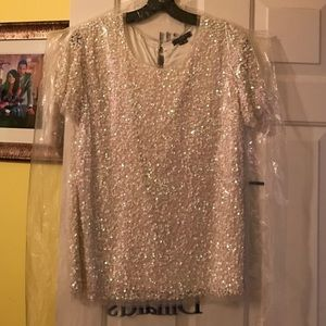 Gryphon Tops - $345 Gryphon Sequin Top