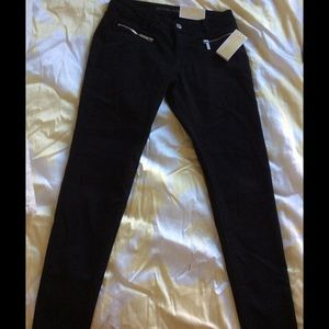 New Michael Kors Black Skinny Jeans