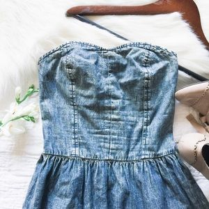 Arizona Dresses & Skirts - arizona • jean acid wash halter dress