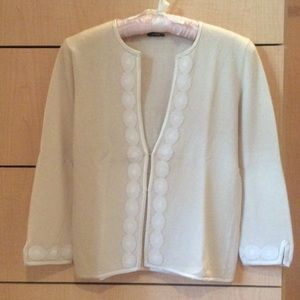 J. Crew Sweaters - ✨J Crew Cream open front sweater