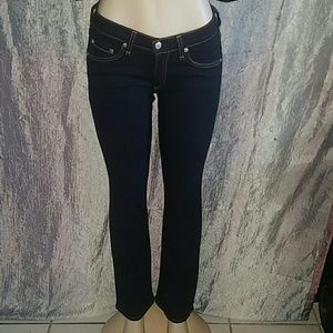 Rag  and bone Stiletto boots jeans 27