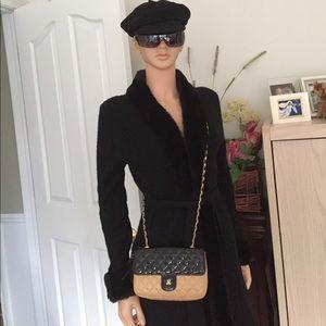 Jay Herbert  Handbags - NWOT Jay Herbert NY black/ tan handbag vintage