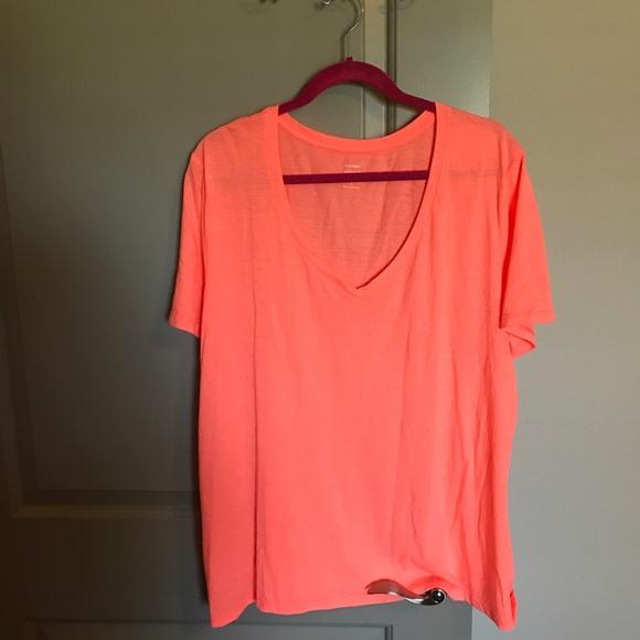 a054e059f Neon Orange Boyfriend Tee. M_580d1ce556b2d6110d012ba0