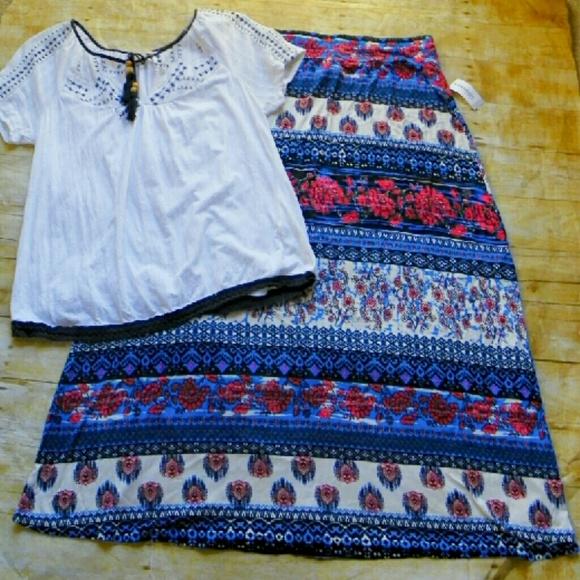 53 dress barn dresses skirts nwt pattern stripe