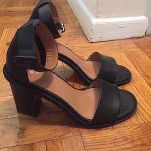 H&M Faux Leather Heels