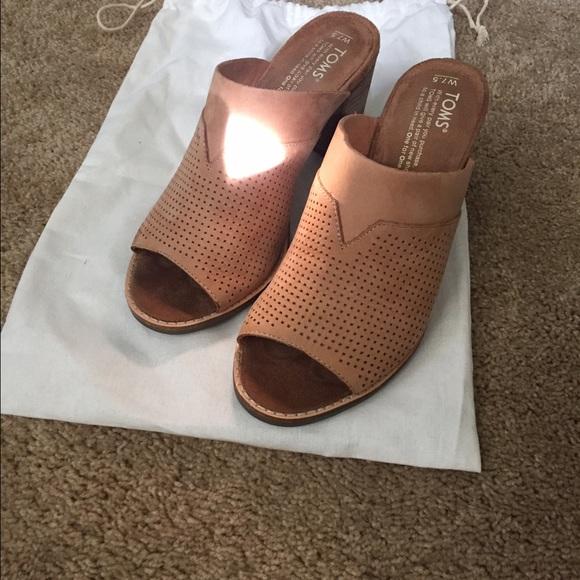 36c5c3d2657 Toms SANDSTORM NUBUCK PERFORATED MAJORCA MULES. M 580d2181bf6df5fcee0857c9.  Other Shoes ...