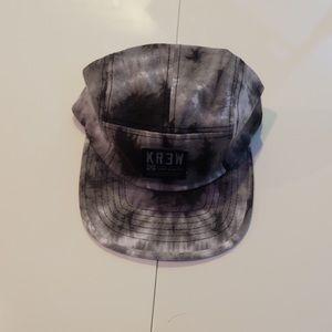 KR3W Other - KR3W Tie Dye 5-Panel Flat Brimmed Hat
