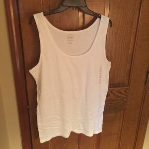 White Old Navy tank size XXL