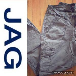 Jag Jeans Pants - Jag Midrise Slim Leg Cargo