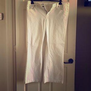 GAP white jeans 18r