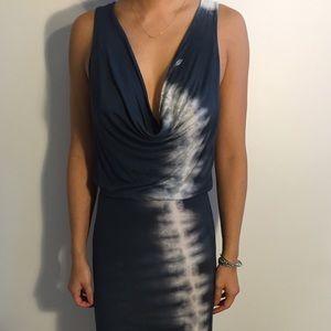 Young Fabulous & Broke tie dye maxi dress