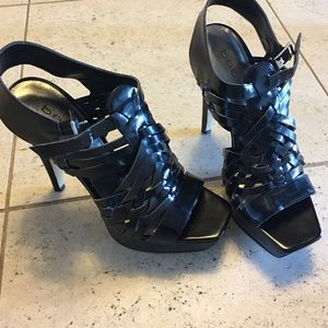 Brand New, Never Worn! Black Bebe High Heels