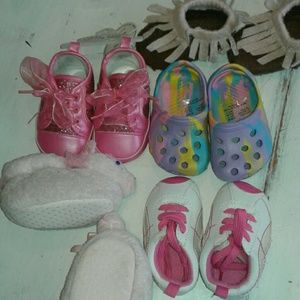 Other - Set of 5 girls shoes size 2
