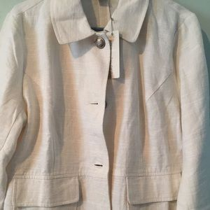 Jackets & Blazers - Linen blazer.