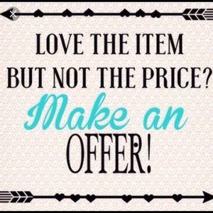Accessories - Make an offer!! :)