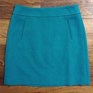 LOFT Dresses & Skirts - LOFT blue skirt size 0