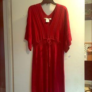 M.STUDIO Dresses & Skirts - Fall must! Studio M Knit Dress Red- Medium