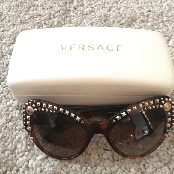 97410f08186e Cat eye tortoise shell Versace sunglasses. M 580d36b39818299c6f089556.  Other Accessories ...