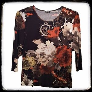 Gerry Weber Tops - Gerry Weber Shirt with autumn / fall abstract