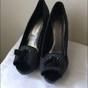 Christian Siriano Shoes - Christian Siriano for Payless chunky black heels