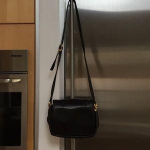 Perlina Handbags - Black Perlina Crossbody Shoulder Bag