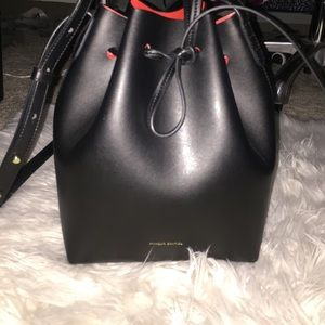 AUTHENTIC MANSUR GAVRIEL MINI BUCKET BAG 