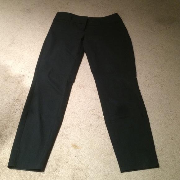 The Limited Pants Skinny Leg Black Dress Poshmark