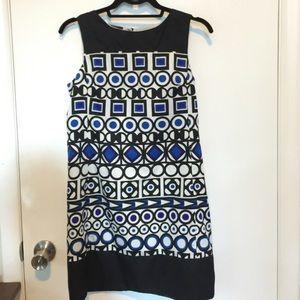 Avon Dresses & Skirts - Geometric Print Shift Dress size Small