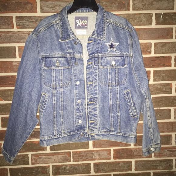 san francisco 91c90 61604 Vintage Lee Denim trucker jacket. Dallas Cowboys