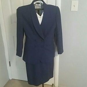 Kasper Dresses & Skirts - Vintage 80's Double Breasted Suit