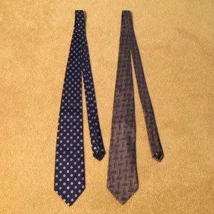 Hickey Freeman Other - HICKEY FREEMAN ties! Purchase is for both ties!🎉